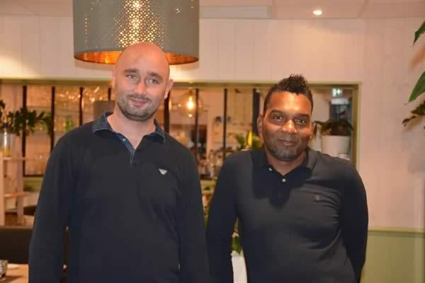 Glen Markussen et Céric Mixtur, propriétaires du Bistro l'Olivier